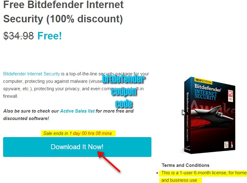 Bitdefender coupons and discount codes